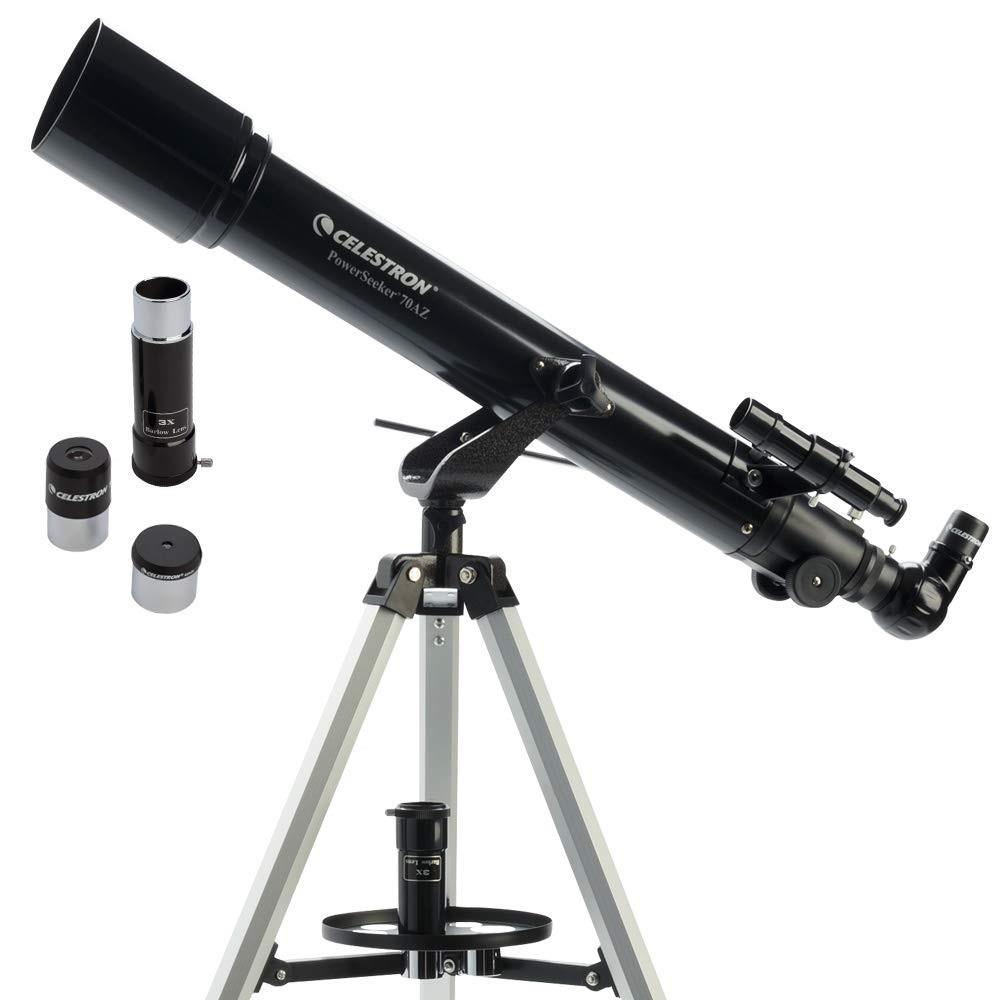 Celestron Powerseeker 70AZ Refractor Telescope