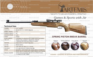 SDB Artemis Sports Air Rifle Buy Online India
