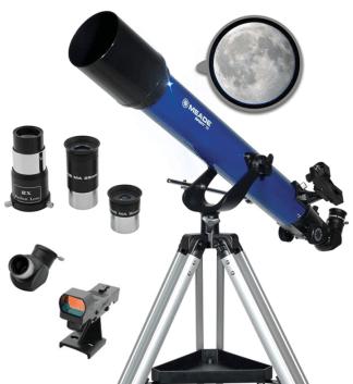 Meade 70mm Refractor Telescope 70AZ Buy Online India